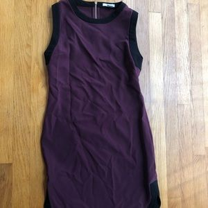 Maroon Business Casual Dress XS